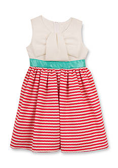 Rare Editions Knit Stripe Dress Girls 4-6x