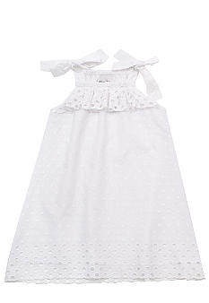 Rare Editions Eyelet Dress Girls 4-6X