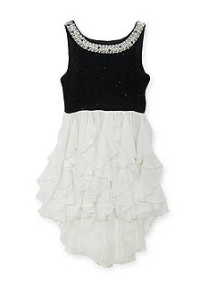 Tween Diva by Rare Editions Lace Cascade Dress Girls 7-16