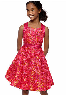 Rare Editions Soutach Dress Girls 7-16