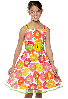 Rare Editions Daisy Dress Girls 7-16