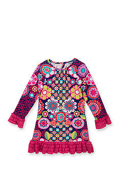Counting Daisies by Rare Editions Floral Shift Dress Girls 4-6x