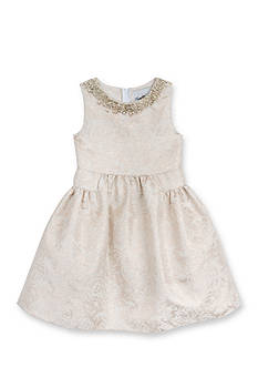 Rare Editions Floral Brocade Dress Girls 4-6x