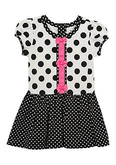 Rare Editions Polka Dot Dress Girls 4-6x