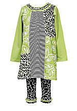 Rare Editions Giraffe Tunic & Legging Set Girls 4-6X
