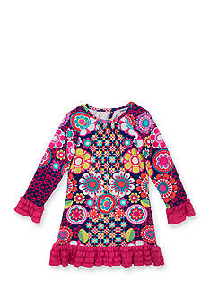 Counting Daisies by Rare Editions Disco Floral Shift Dress Girls 7-16