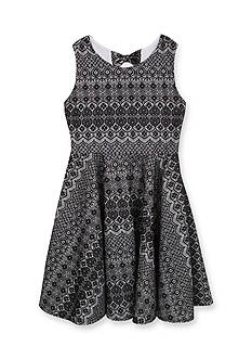 Rare Editions Bonded Lace Dress Girls 7-16