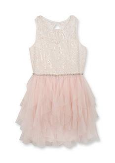 Tween Diva by Rare Editions Social Cascade Dress Girls 7-16