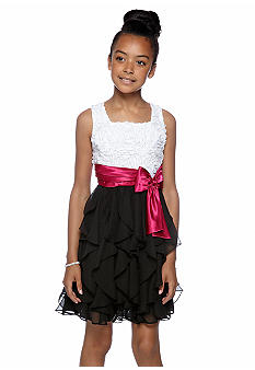 Rare Editions Ruffle Dress Girls 7-16