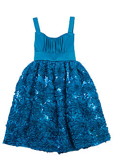 Rare Editions Social Soutache Dress Girls 7-16