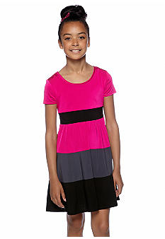 Rare Editions Colorblocked Dress Girls 7-16