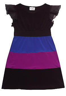 Rare Editions Color Block Dress Girls 7-16