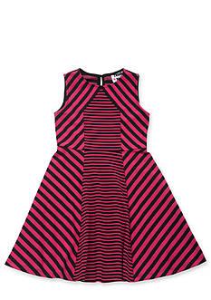 Rare Editions Multi Stripe Dress Girls 7-16