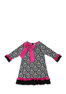Jumping Fences by Rare Editions Toile A-Line Dress Girls 7-16