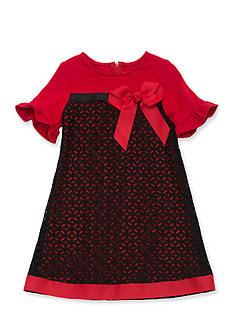 Rare Editions Lace Bow Dress Girls 7-16