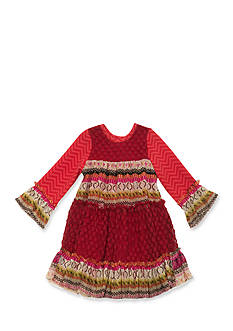 Rare Editions Tiered Lace Dress Girls 7-16