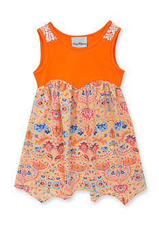 Rare Editions Paisley Print Dress Girls 4-6x