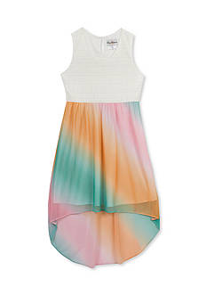 Rare Editions Ombre Chiffon Dress Girls 4-6x