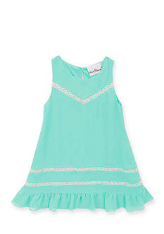 Rare Editions Lace Ruffle Dress Girls 4-6x