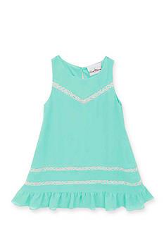 Rare Editions Lace Ruffle Dress Girls 4-6x