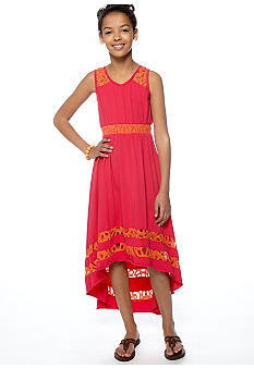 Rare Editions Hi Lo Maxi Dress Girl 7-16