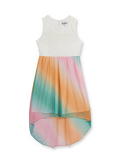 Rare Editions Lace to Ombre High Low Dress Girls 7-16