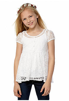 Amy Byer Lace Top Girls 7-16