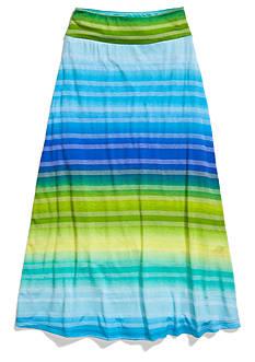 Amy Byer Stripe Maxi Skirt Girls 7-16