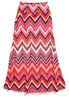 Amy Byer Chevron Maxi Skirt Girls 7-16