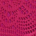 Amy Byer Girls: Raspberry Amy Byer 2Fer Crochet Fringe Cardigan and Tank Top Girls 7-16