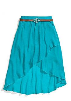 Amy Byer Gauze Belted Skirt Girls 7-16