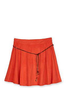 Amy Byer Faux Suede Circle Skirt Girls 7-16