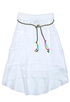 Amy Byer Tier Belted Skirt Girls 7-16