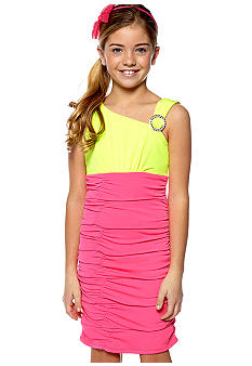 Amy Byer Body Con Dress Girls 7-16