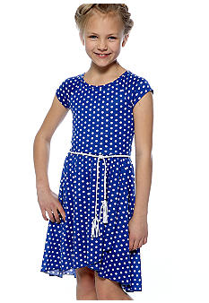 Amy Byer Hi Low Maxi Dress Girls 7-16