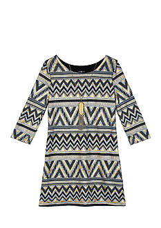 Amy Byer Girls 7-16 Hatchi And Missoni Print Dress