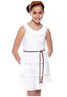 Amy Byer Gauze Dress Girls 7-16