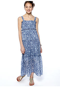 Amy Byer Floral Maxi Dress Girls 7-16