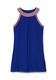 Amy Byer Tribal Trim Dress Girls 7-16