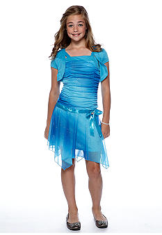 Amy Byer Ombre Hanky Hem Dress Girls 7-16