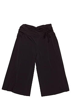 Amy Byer Shirred Gaucho Pant Girls Plus