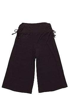 Amy Byer Beaded Drawstring Gaucho Girls Plus