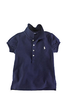 Ralph Lauren Childrenswear Stretch Mesh Polo Girls 4-6x