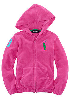 Ralph Lauren Childrenswear Terry Hoodie Girls 4-6X