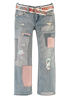 Ralph Lauren Childrenswear Patchwork Bootcut Jean Girls 4-6x