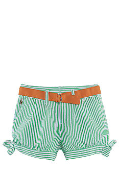 Ralph Lauren Childrenswear Seersucker Pleated Short Girls 4-6X