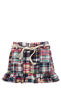 Ralph Lauren Childrenswear Patchwork Madras Skirt Girls 4-6X