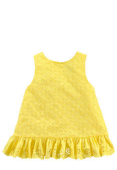 Ralph Lauren Childrenswear Yellow Floral Tunic Girls 4-6X