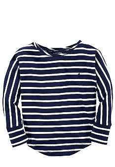 Ralph Lauren Childrenswear Striped Knit Shirt Girls 4-6X