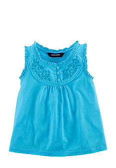 Ralph Lauren Childrenswear Embroidered Bib Top Girls 4-6X